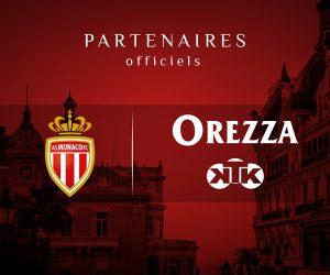 Orezza et la marque de pétanque KTK prolongent avec l'AS Monaco jusqu'en 2021