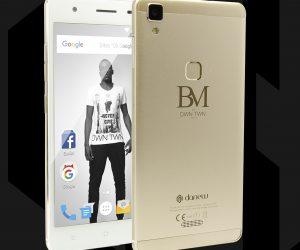 La marque Danew lancent deux smartphones à l'effigie de Blaise Matuidi