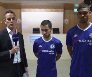 Chelsea FC dévoile son nouveau maillot domicile 2016-2017 en live vidéo sur Facebook
