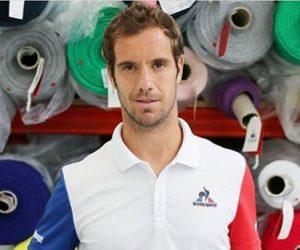 Richard Gasquet en bleu-blanc-rouge pour Roland-Garros, «un clin d'oeil à l'Euro 2016» de son équipementier le coq sportif