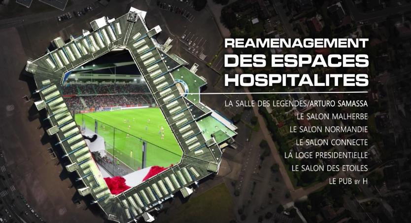 hospitalités VIP stade malherbe caen ligue 1 d'ornano