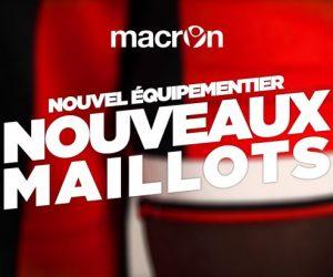Macron nouvel équipementier de l'OGC Nice