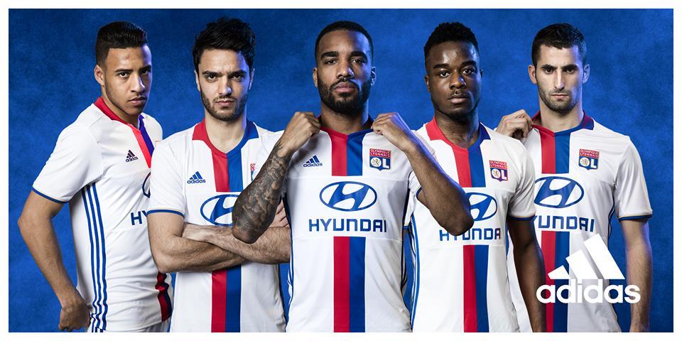 nouveau maillot 2016 2017 Olympique lyonnais adidas