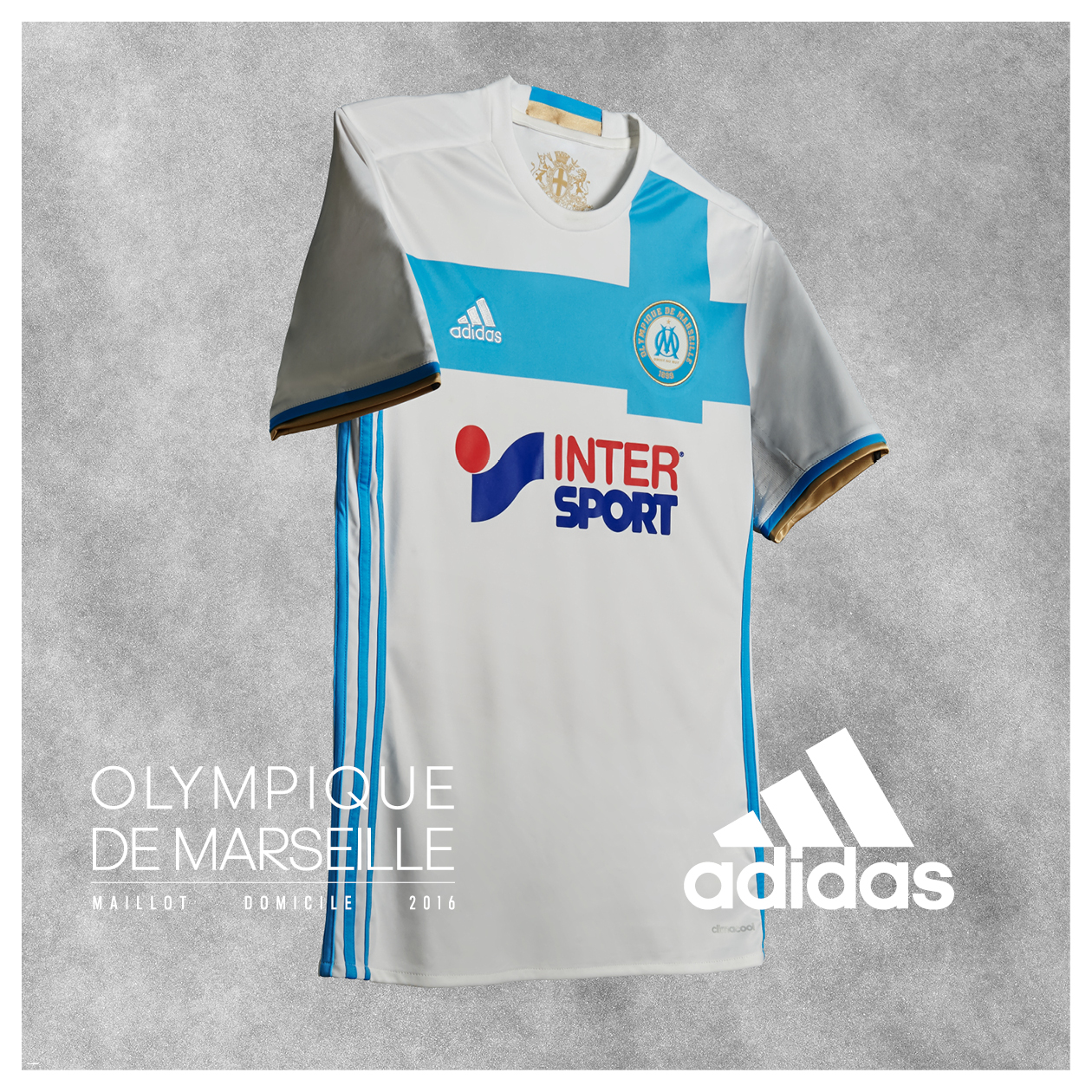 ensemble de foot Olympique de Marseille Tenue de match