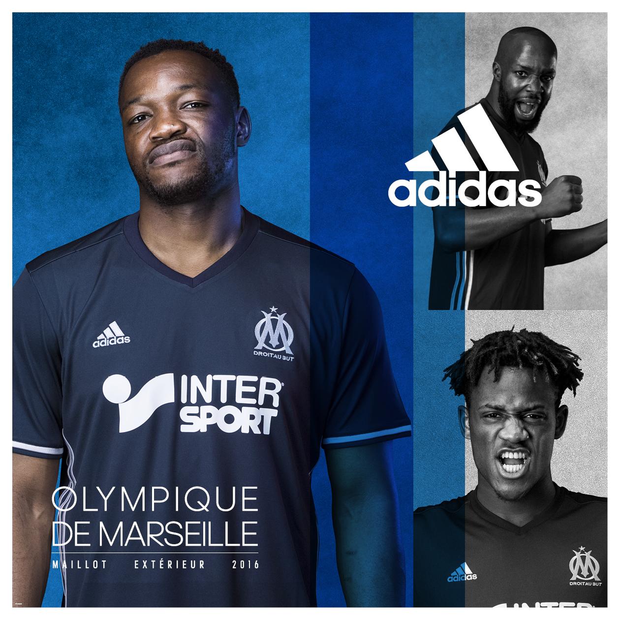 nouveau maillot extérieur OM 2016 - 2017 mandanda