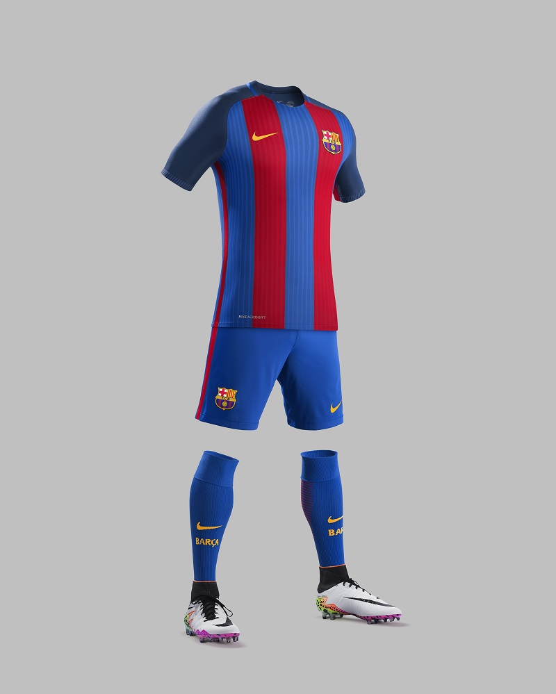 tenue de foot FC Barcelona 2017