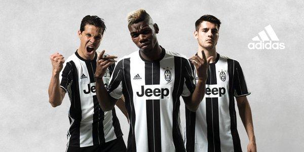 paul pogba nouveau maillot Juventus turin 2017 adidas football