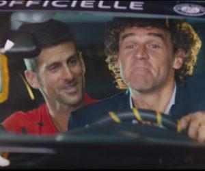 Roland-Garros 2016 – Djokovic dans la nouvelle pub TV Peugeot, Gustavo Kuerten comme chauffeur ?