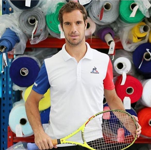 coq sportif polo tennis