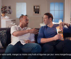 Les publicités TV des chips Vico avec Christophe Dugarry et Alain Bernard