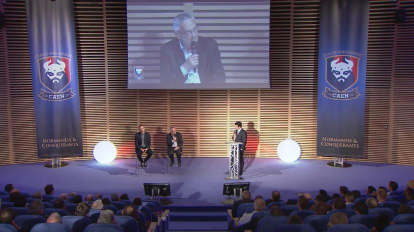 stade malherbe caen présentation projet 2020 normands et conquérants