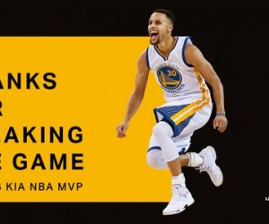 Under Armour célèbre le second titre de MVP de Steph Curry dans NBA 2K16