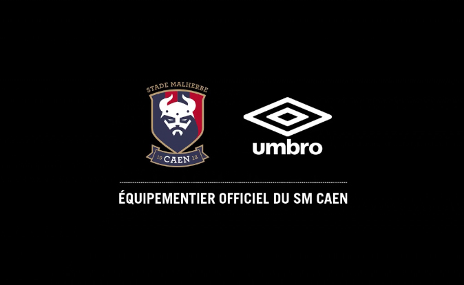 umbro SM caen maillot équipementier sponsor football