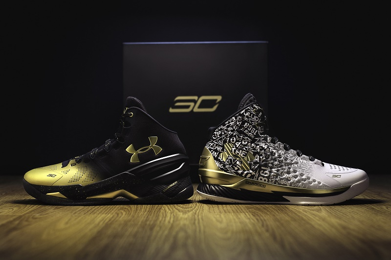 under armour Curry MVP Back to Back NBA 2016