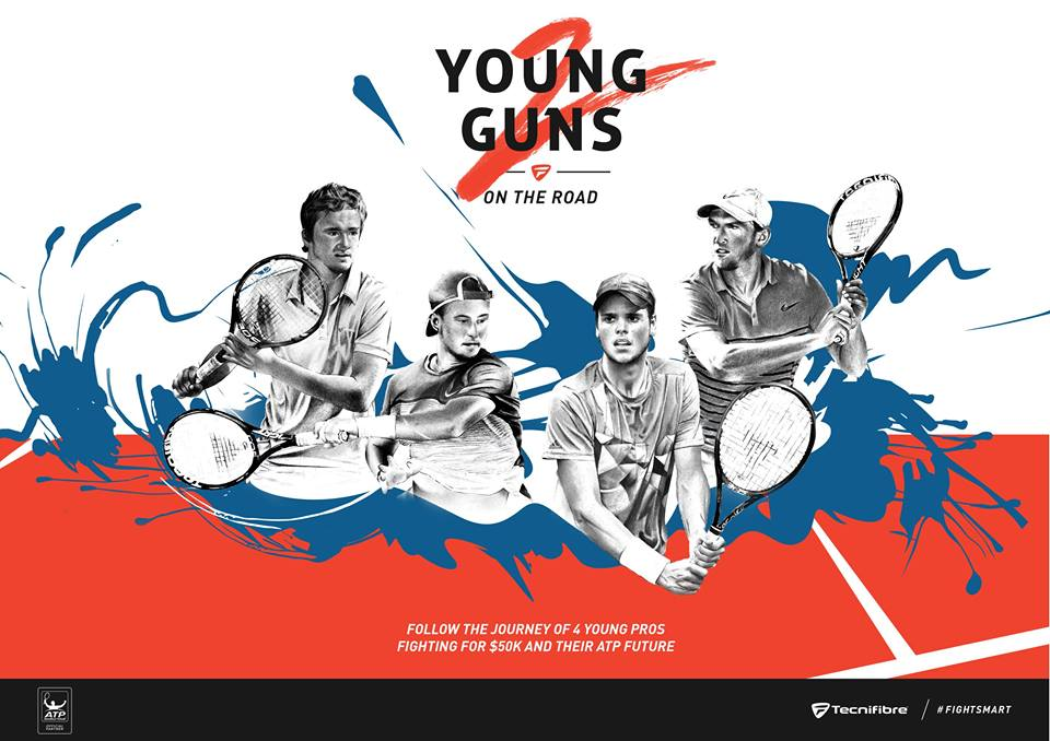 young guns on the road 2 tecnifibre 2016