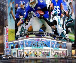 La NFL s'associe au Cirque du Soleil pour créer une expérience unique à Times Square