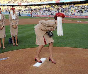 Quand Emirates revisite les consignes de sécurité dans l'antre des Los Angeles Dodgers (MLB)