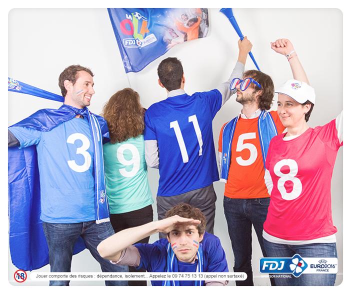 FDJ paris sportifs euro 2016