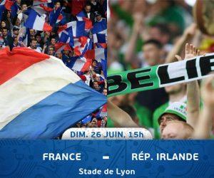 BON PLAN : 2 places pour France – Eire à gagner sur SBB avec SOCAR !
