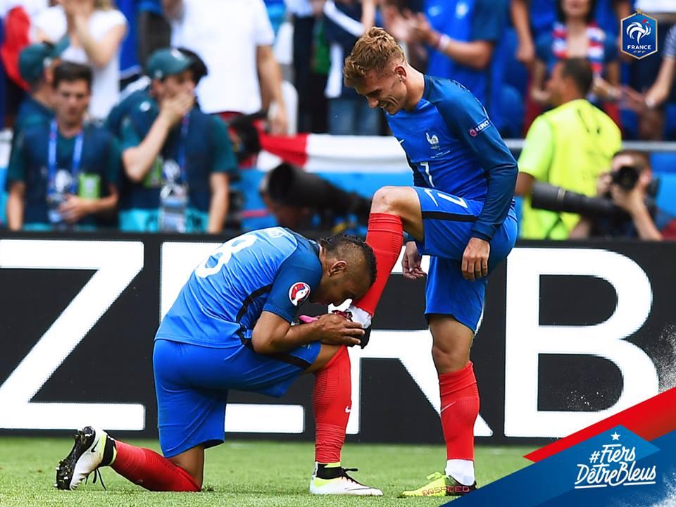 France Irlande Griezmann Puma Payet Nike