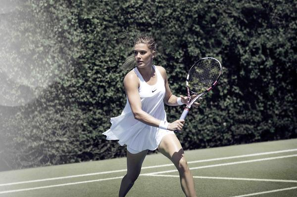 Genie bouchard outfit nike tennis wimbledon 2016