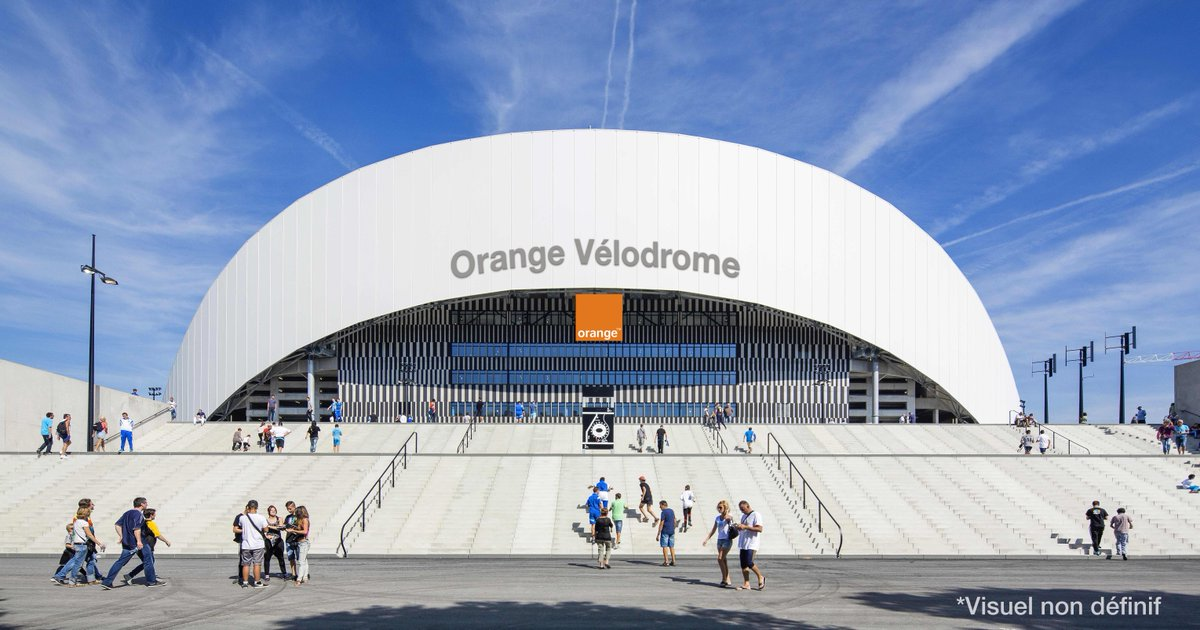 Naming orange donne son nom au stade v lodrome o volue - Piscine olympique marseille ...