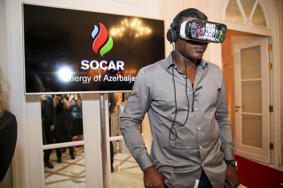SOCAR Marcel desailly euro 2016 azerbaijan