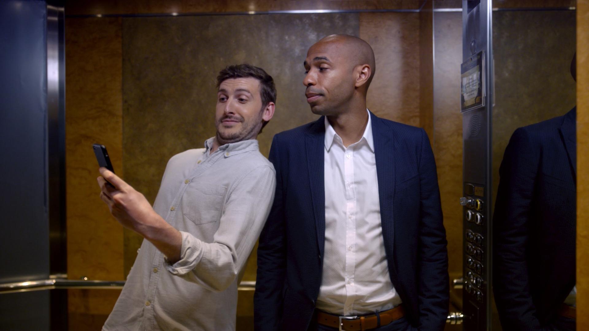 Thierry Henry Booking.com publicité sport
