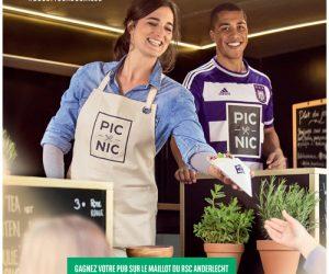 BNP Paribas Fortis offre à nouveau son sponsoring maillot du RSC Anderlecht avec le concours «Boostez votre Business»