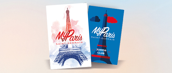 carte myparis saint germain PSG membership
