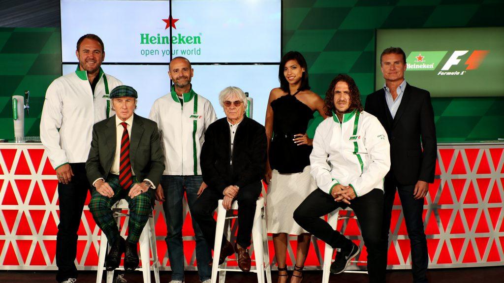 heineken Formule 1 sponsor global