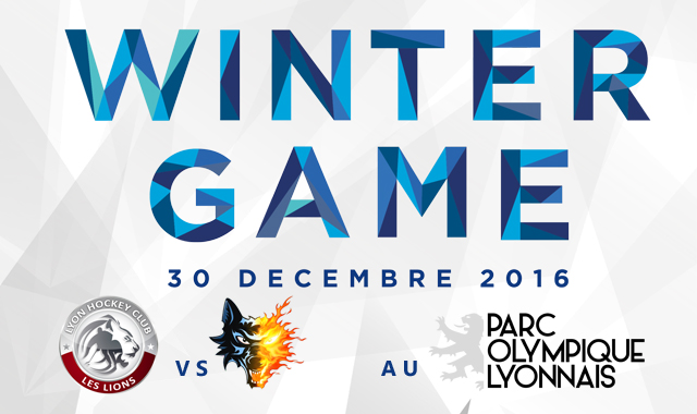 hockey sur glace winter game 2016 Parc OL