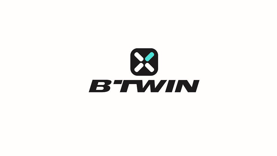 logo b'twin decathlon cycle