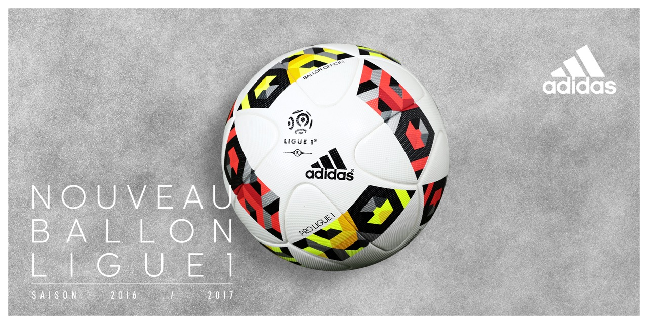 ligue 1 voici le calendrier des matchs et le ballon officiel adidas de la saison 2016 2017. Black Bedroom Furniture Sets. Home Design Ideas