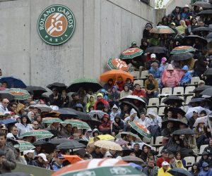 Les conséquences business et d'image de la pluie à Roland-Garros