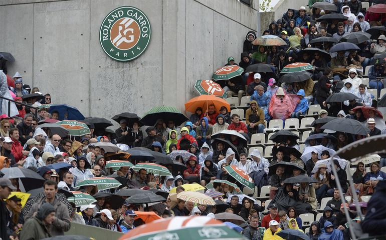 pluie roland-garros 2016 parapluie