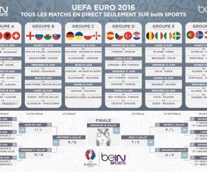 beIN SPORTS, M6, TF1… Comment suivre les matchs de l'Euro 2016 à la télévision (programme et horaires)