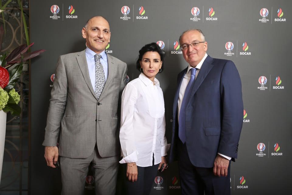 rachida dati SOCAR azerbaidjan EURO 2016