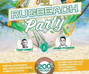 La Rugbeach Party mise sur une organisation de taille cet été