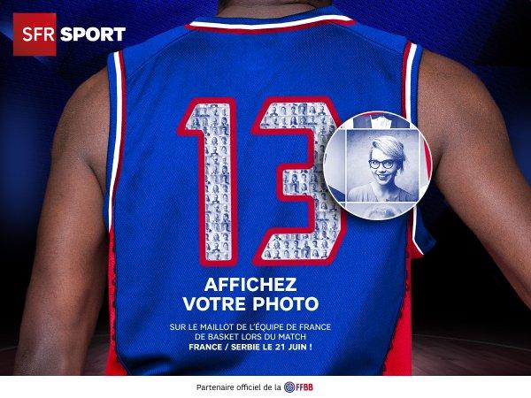 Votre Photo Sur Le Maillot Des Joueurs De L Equipe De France De