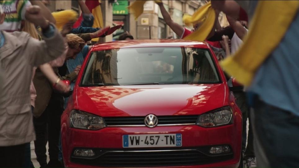 volkswagen pub euro 2016 voiture supporters