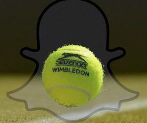 Wimbledon signe un partenariat avec Snapchat pour s'exposer aux plus jeunes