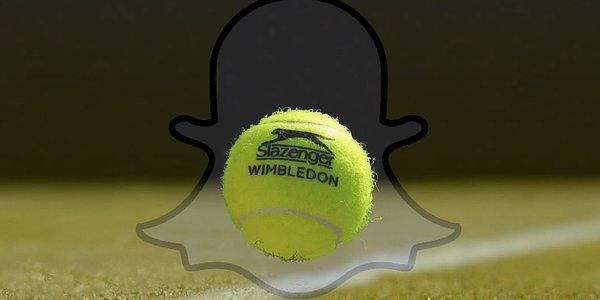 wimbledon snapchat tennis live stories