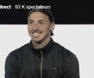 Revivez le lancement de la marque de Sportswear «A-Z» de Zlatan Ibrahimovic en live vidéo