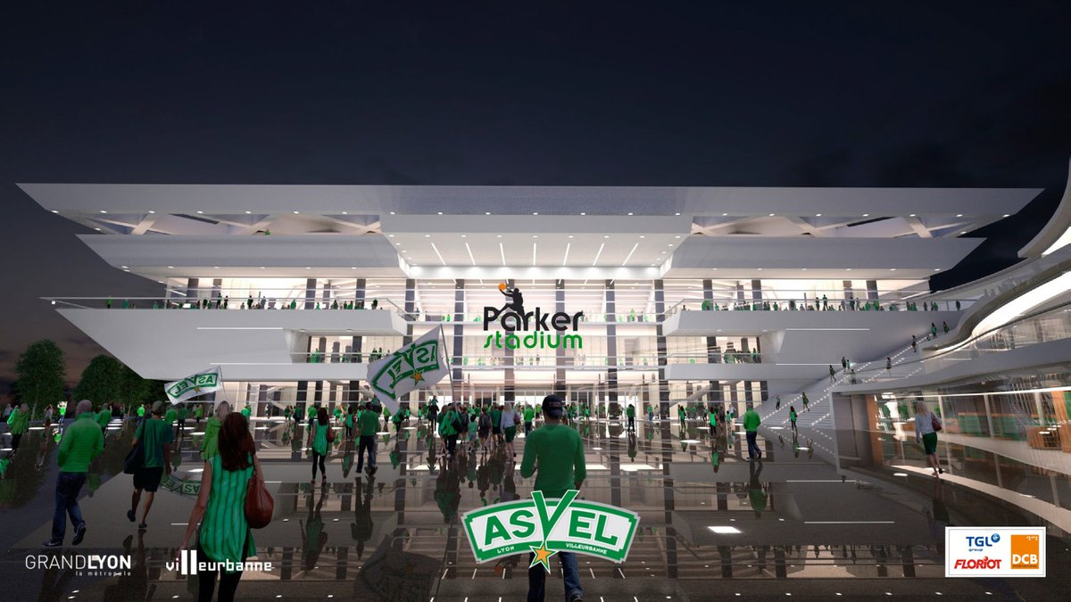 Asvel nouvelle arena tony parker stadium