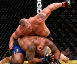 L'UFC a fait son show à Las Vegas avec un nouveau record business pour le retour triomphant de Brock Lesnar (UFC 200)