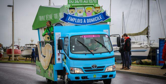 L'Emploi à domicile s'invite sur la Caravane Publicitaire du Tour de France 2016 pour 600 000€