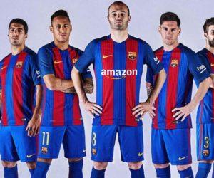 Amazon nouveau sponsor maillot du FC Barcelone ?