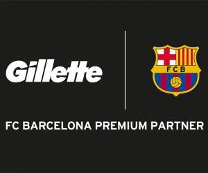 Gillette renforce son partenariat avec le FC Barcelone