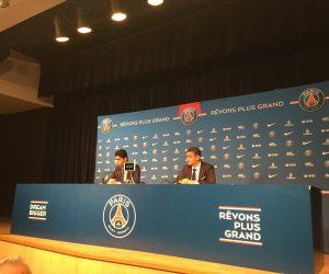 Le Paris Saint-Germain fait déjà du marketing avec la conférence de presse d'Emery et Ben Arfa